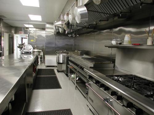 Nhà bếp nấu ăn